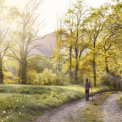 Camminare è la chiave della felicità