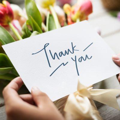 Impara a ringraziare per essere più felice