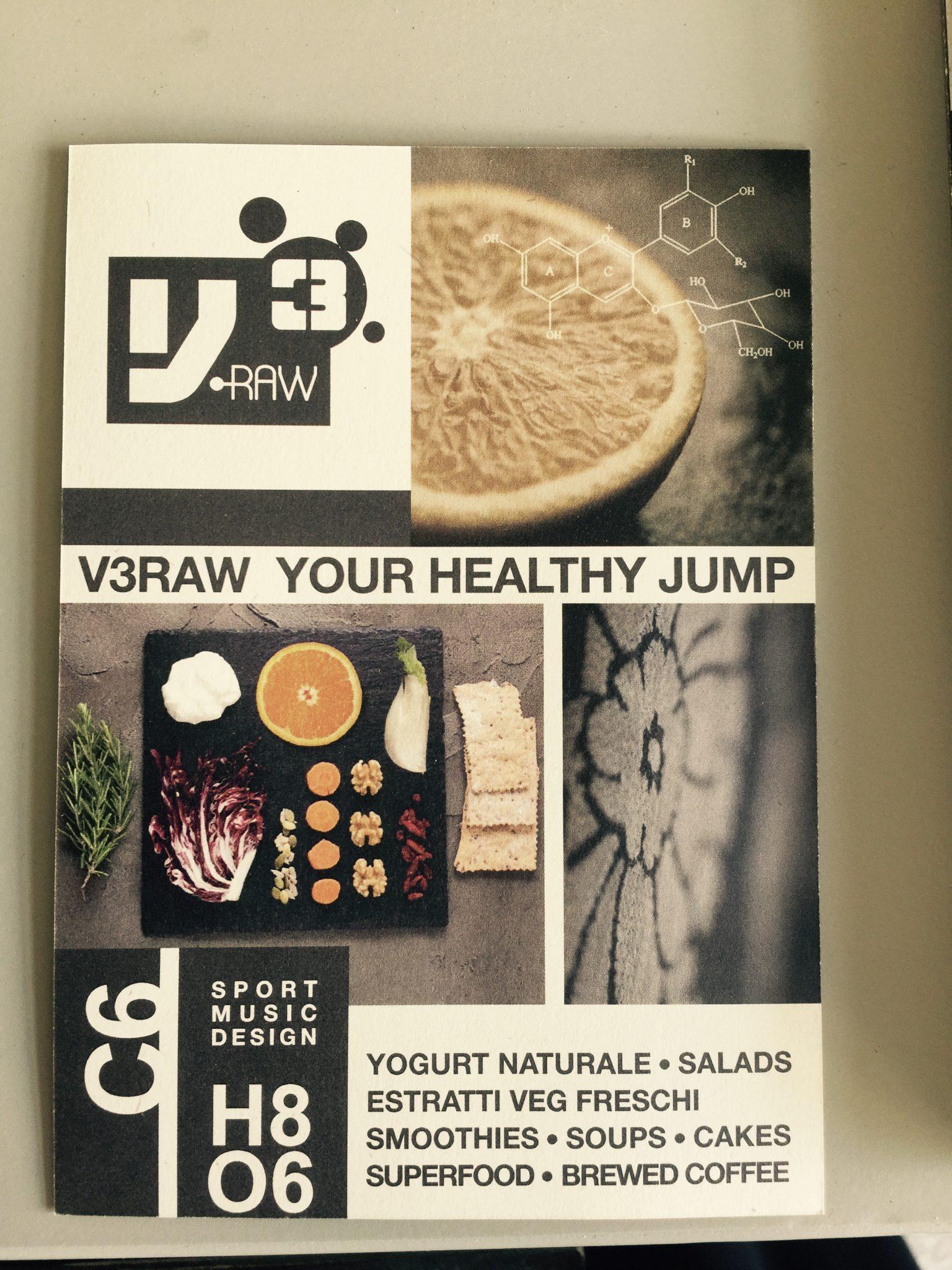 V3Raw - locale con cucina bio a Milano - immagine pubblicata da tatianaberlaffa.com