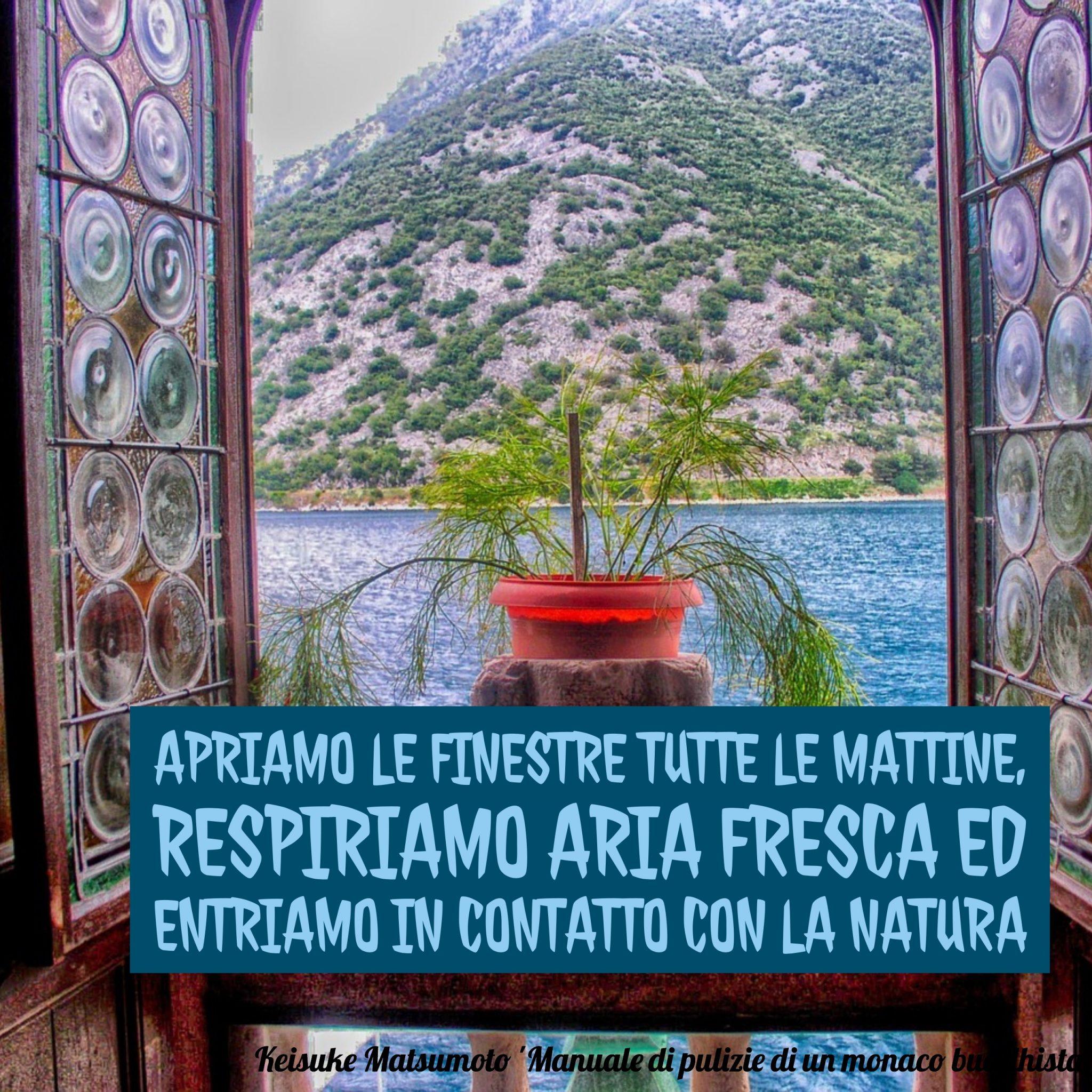Pulizie: per prima cosa, aprire la finestra - foto pubblicata da tatianaberlaffa.com