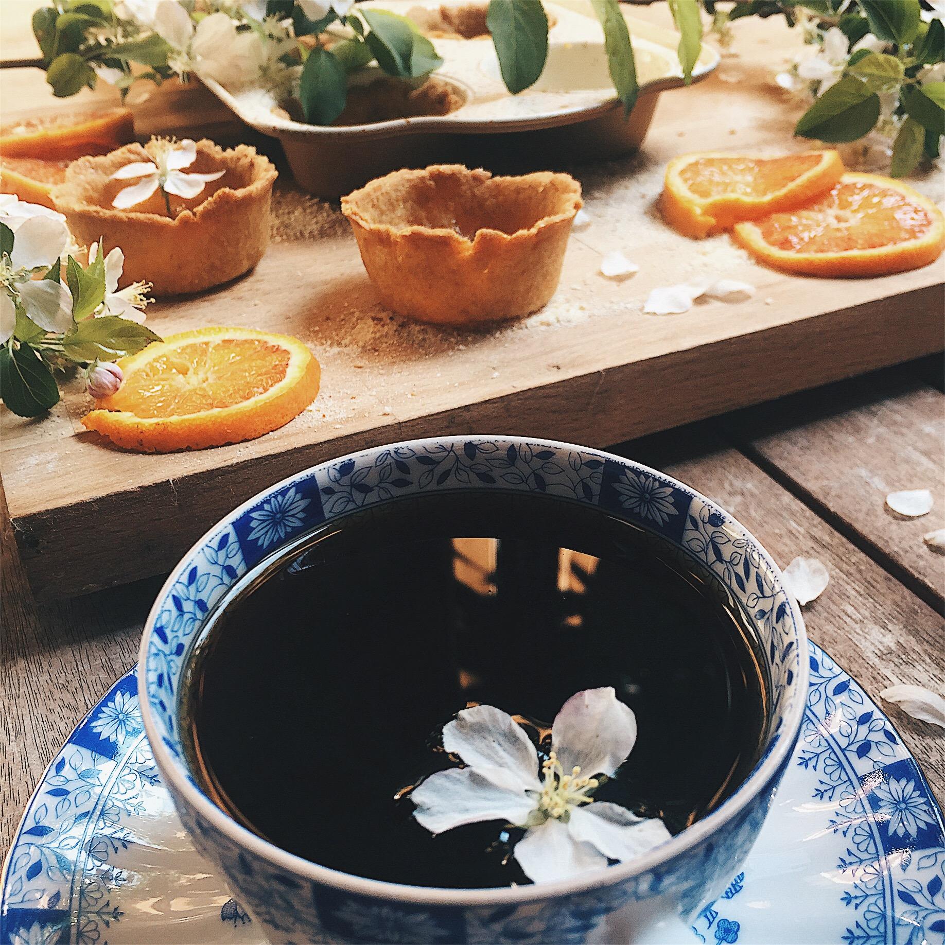 caffè e crostatine senza zucchero - foto di tatianaberlaffa.com