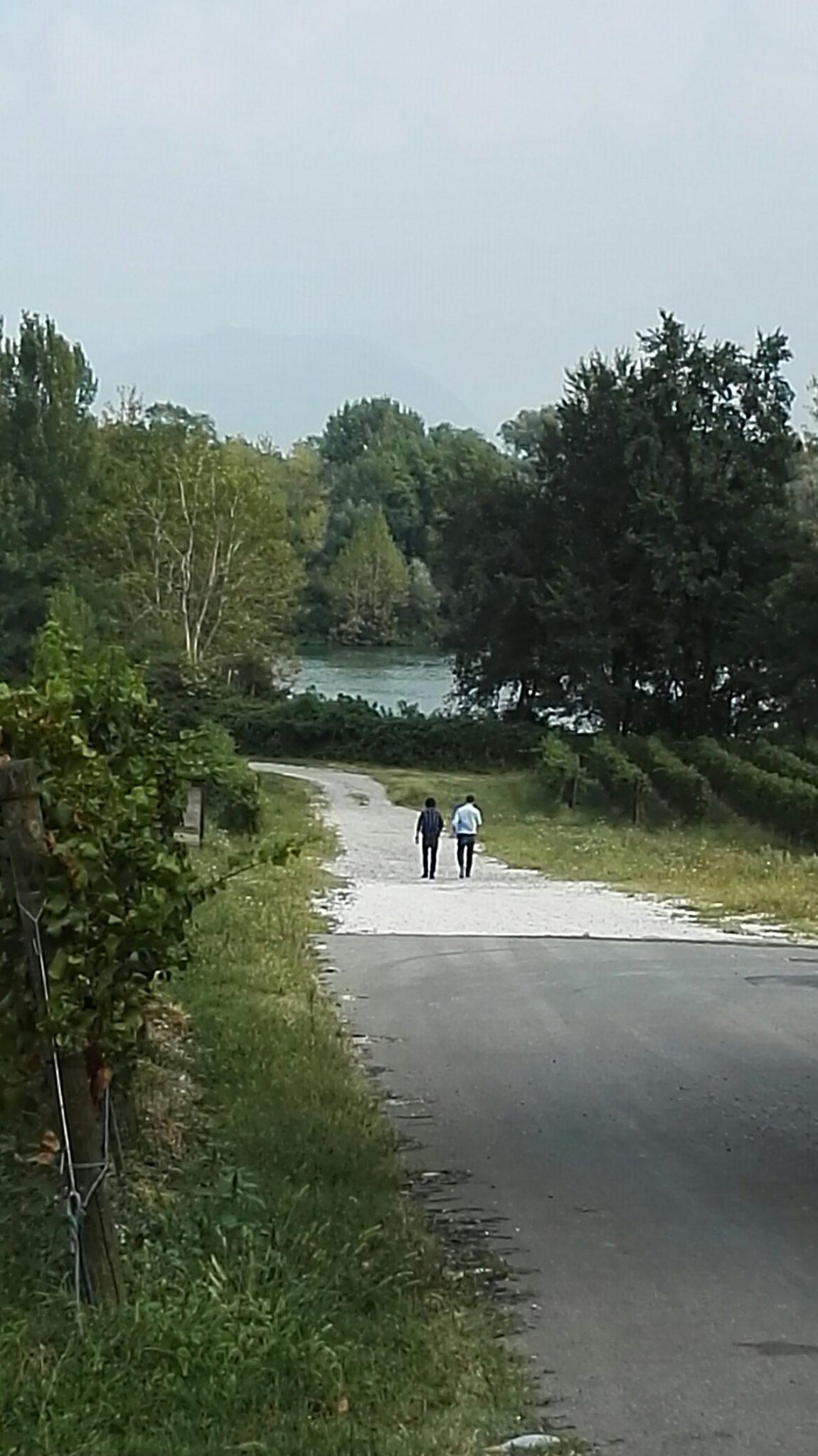 vista dalle cantine Berli Serlini - foto di tatianaberlaffa.com