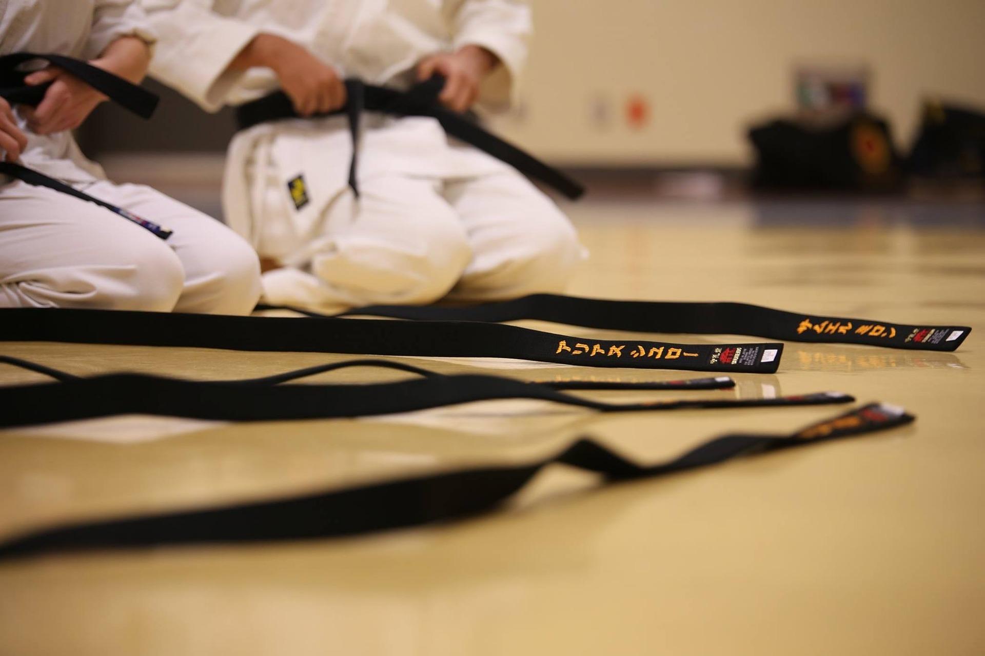 Cinture nere Arti marziali - immagine CC pubblicata da tatianaberlaffa.com