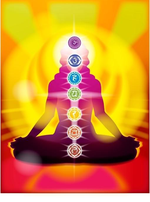 I 7 chakra nello yoga - immagine in CC pubblicata da tatianaberlaffa.com