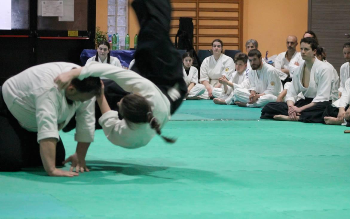 Aikido, arte marziale giapponese - foto di Elisa Rigato Akr Dojo - pubblicata da tatianaberlaffa.com