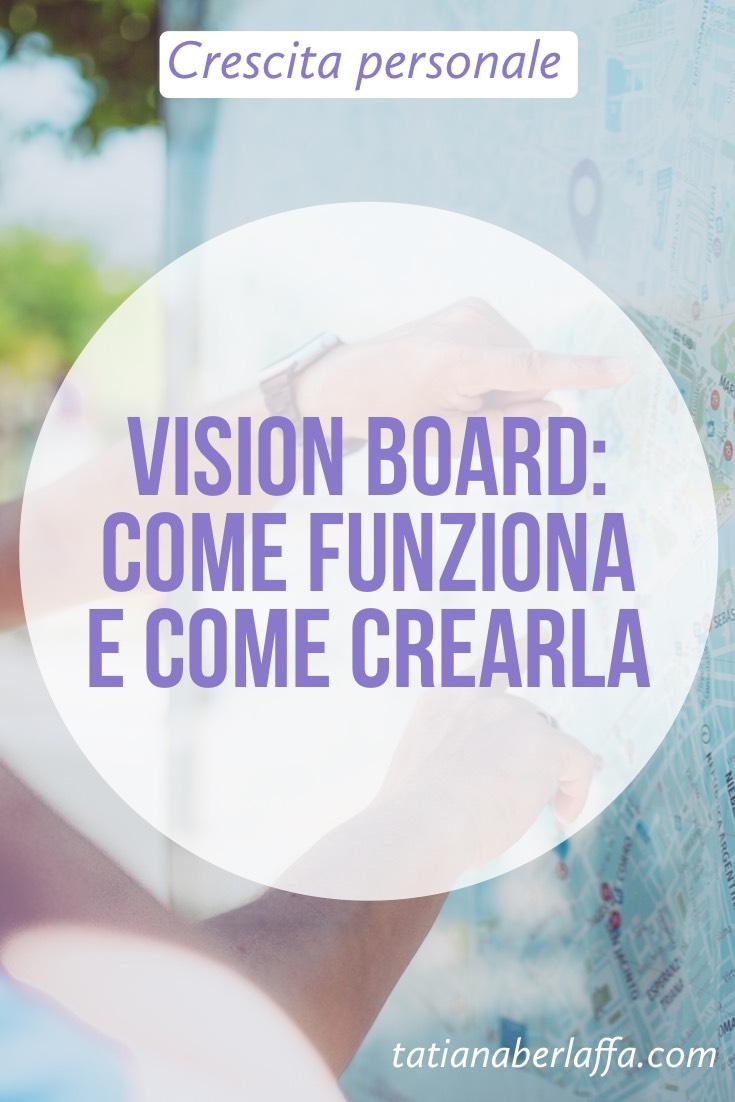 Vision Board: come funziona e come crearla - tatianaberlaffa.com