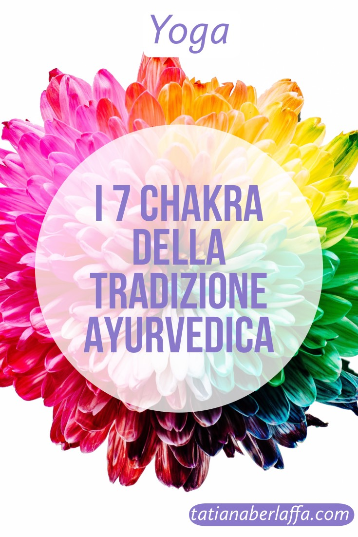 I 7 chakra della tradizione ayurvedica - tatianaberlaffa.com