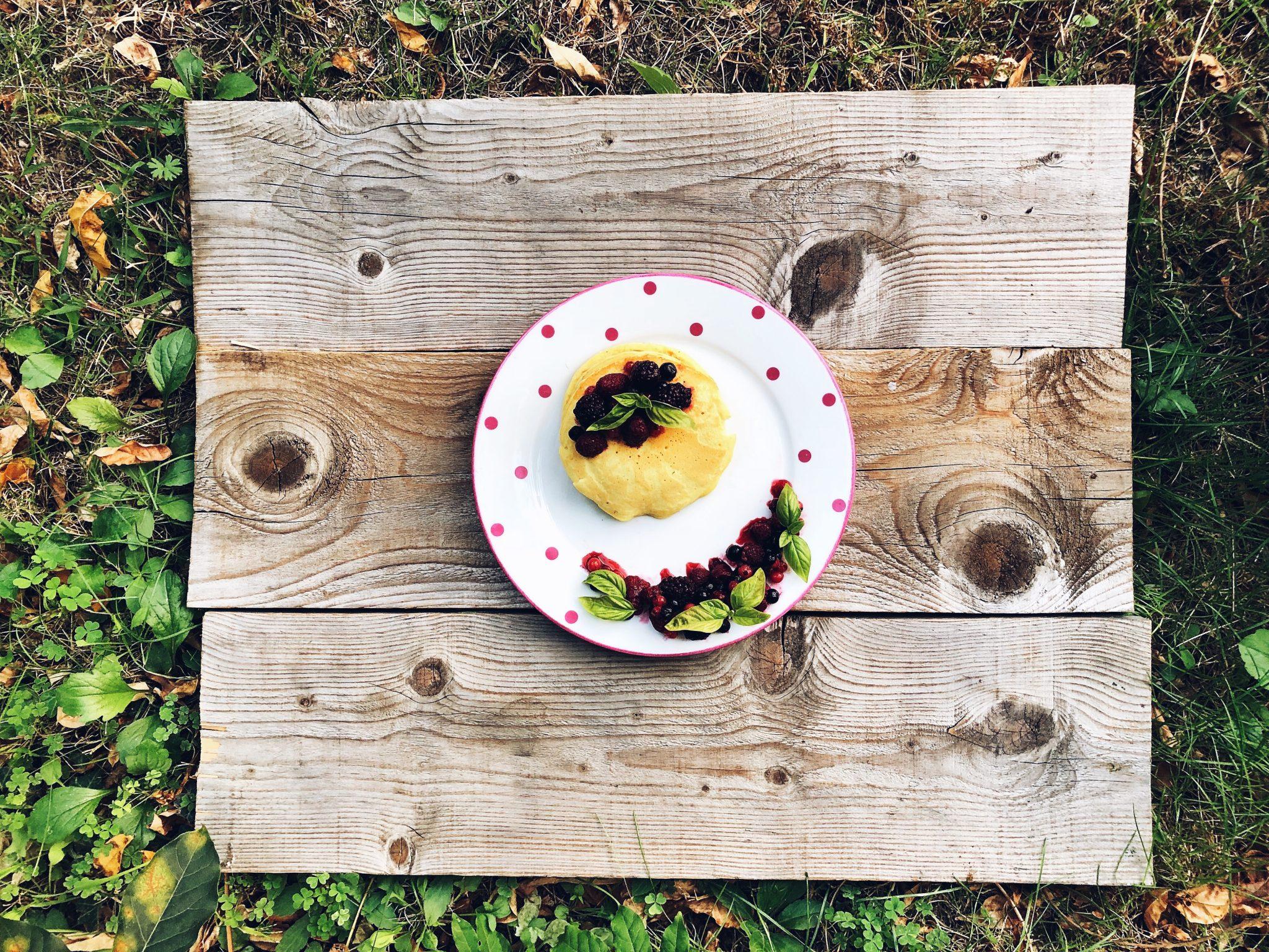 Mindful Eating: Pancakes con frutti di bosco e miele - tatianaberlaffa.com