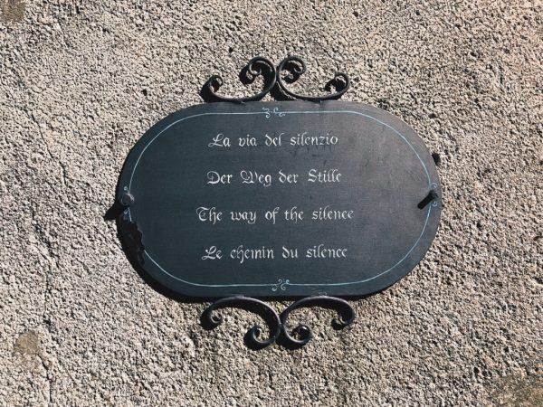 La via del silenzio - isola di San Giulio - Orta - un modo per prendersi cura di sé - tatianaberlaffa.com