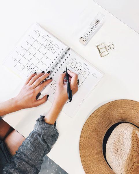 Organizzazione e creatività possono andare di pari passo. I limiti ti aiutano ad essere più creativa.