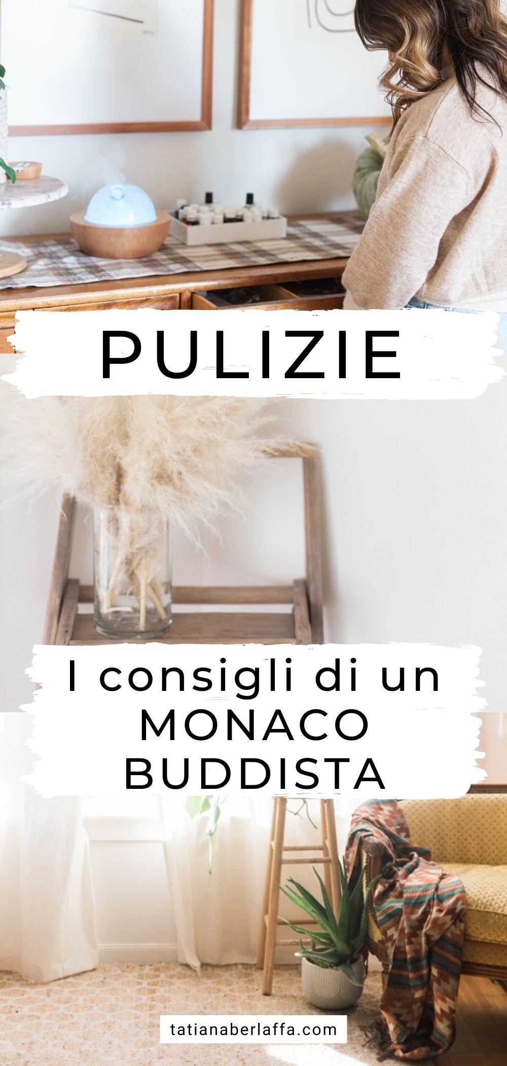 Pulizie: i consigli di un monaco buddista per farle al meglio e trasformarle in una pratica di meditazione quotidiana.
